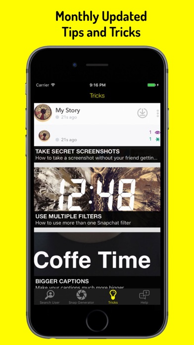 Snap Tools - Tips, Tricks, User Find for Snapchat - App