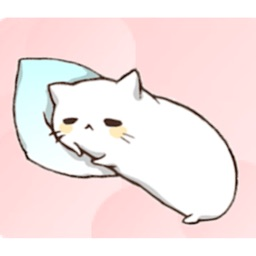 Lovely And Lazy Cat Sticker