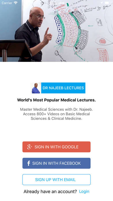 Dr  Najeeb Lectures | Apps | 148Apps