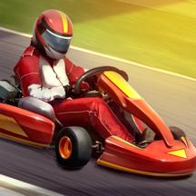 卡丁车模拟器3D—特技汽车赛