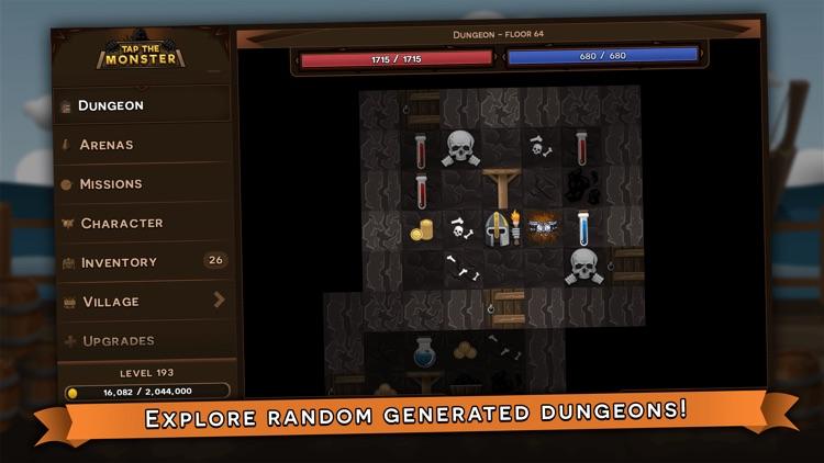 Tap the Monster - RPG clicker screenshot-4
