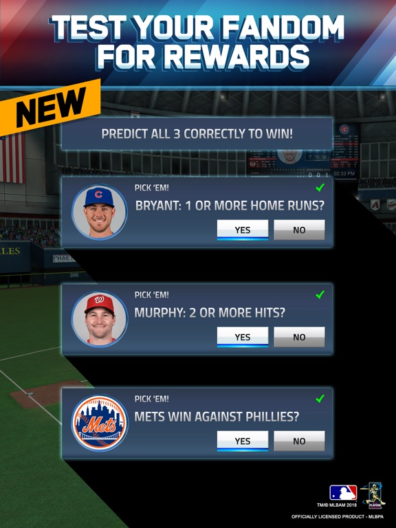MLB Tap Sports Baseball 2018 screenshot 9
