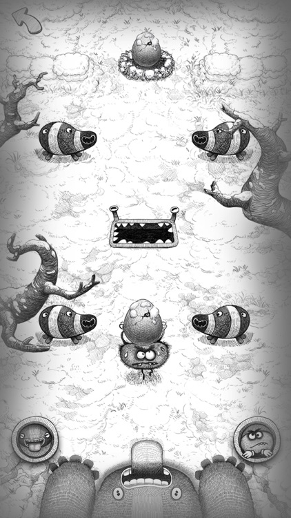 Bad Hungry Monster screenshot-4