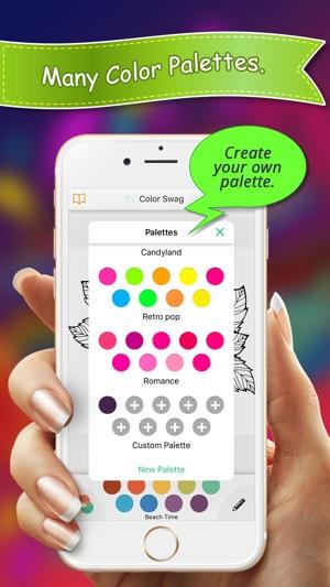 Color Swag Colouring Book en App Store