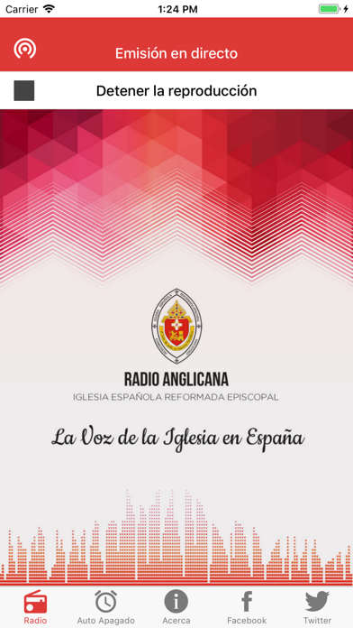 Radio Anglicana España screenshot one