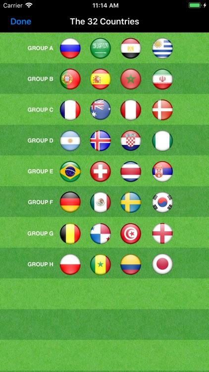 World Football Calendar 2018