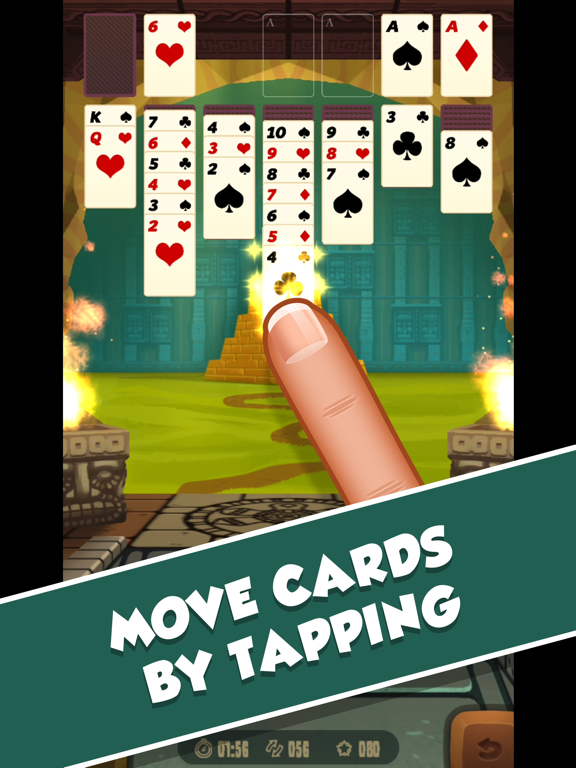 iPad Image of 3D Solitaire