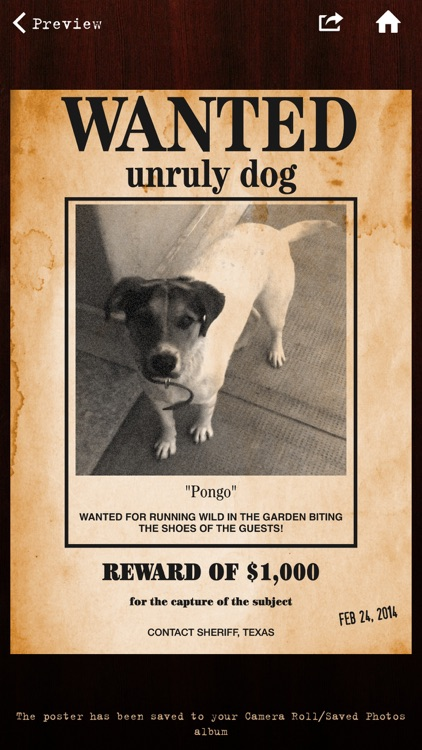 Wanted Poster Pro screenshot-1