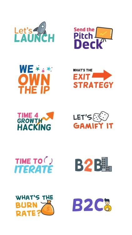 Startup Sticker Pack