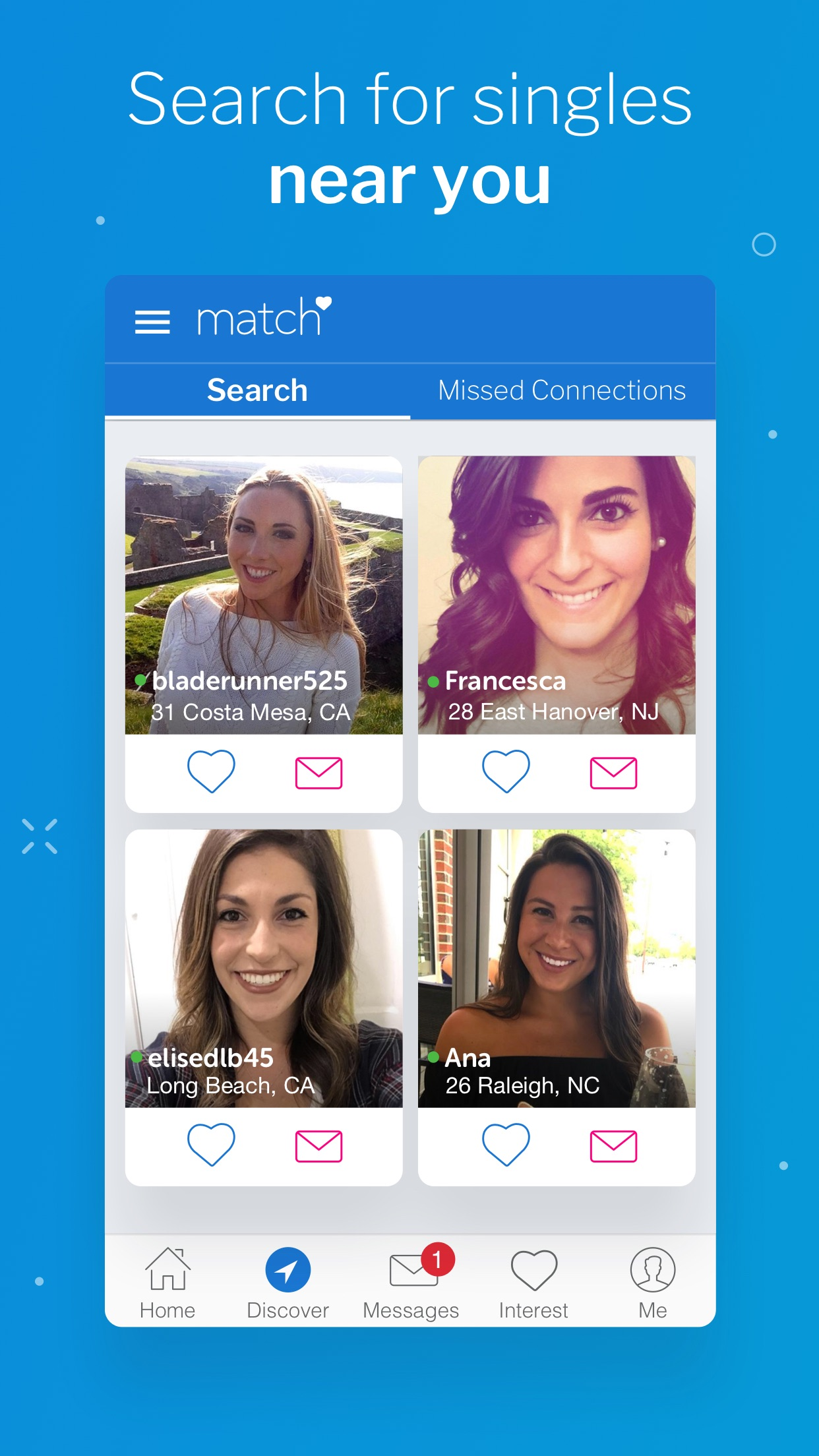Match™ - #1 Dating App. Screenshot