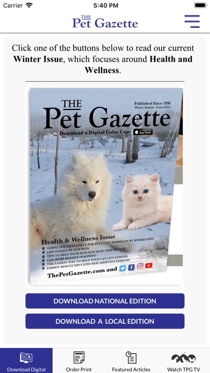 The Pet Gazette