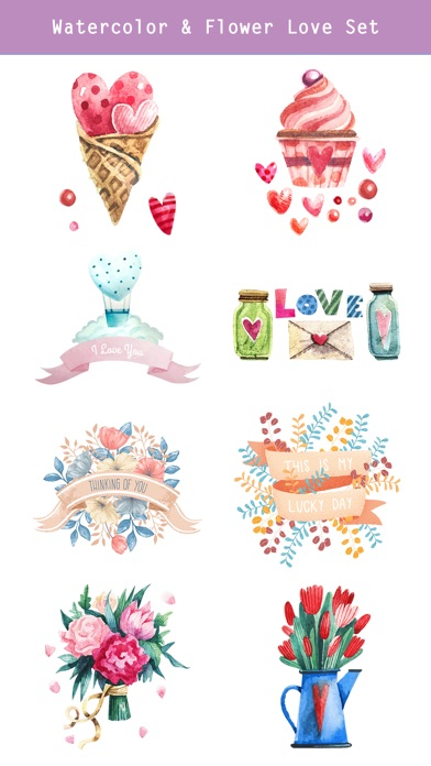 Happy Love Stickers - Animated screenshot 4
