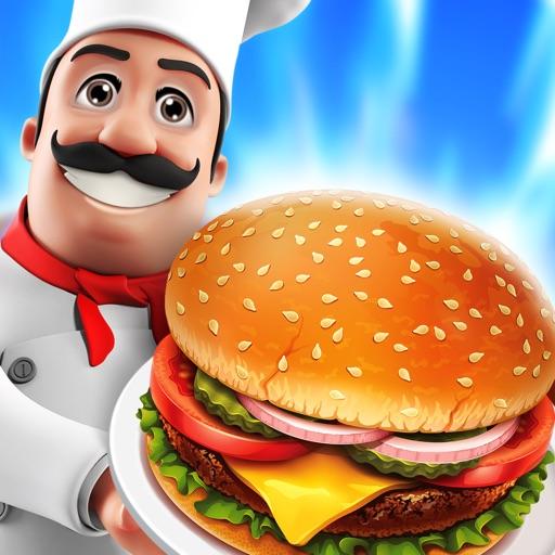 Food Court Hamburger Fever: Burger Cooking Chef