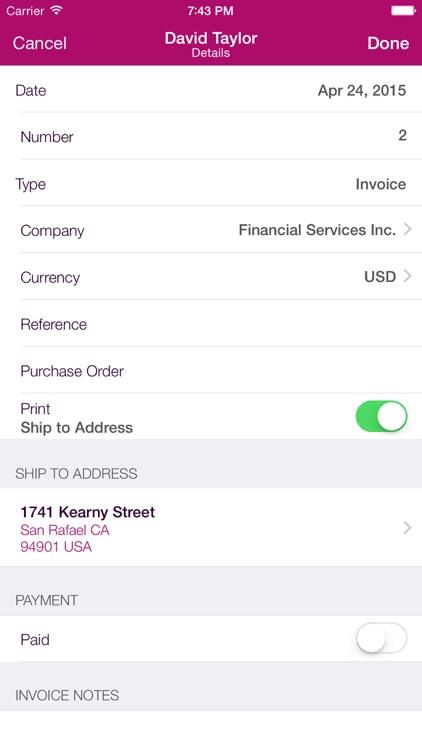 Invoice Center screenshot-3