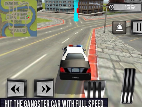 Car Police Chase - Thief City screenshot 5