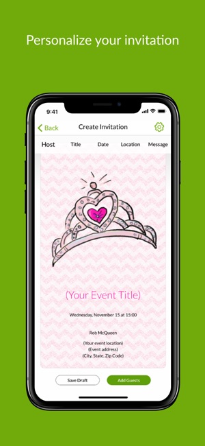 Evite online invitations on the app store evite online invitations on the app store stopboris Images