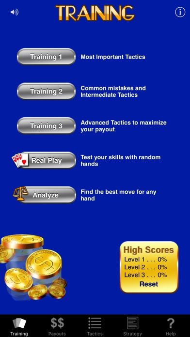 Video Poker Trainer review screenshots