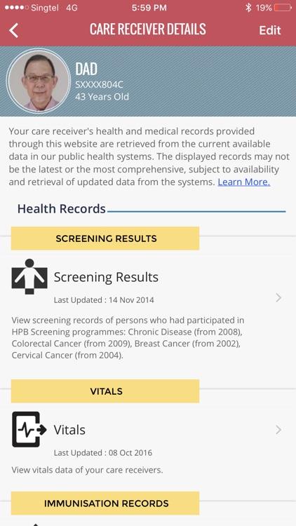 HealthHub SG screenshot-3