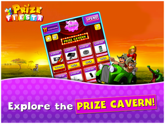 Prize Fiesta by Full Game Ahead (iOS, United States) - SearchMan App
