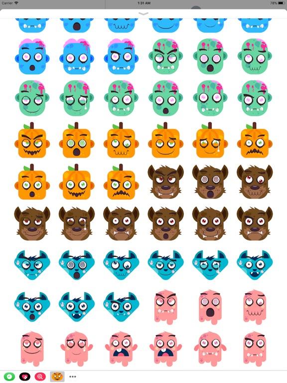 Eeriemoji - Halloween Stickers screenshot 7