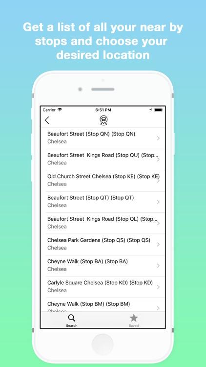 Next Bus - Live Bus Timetables