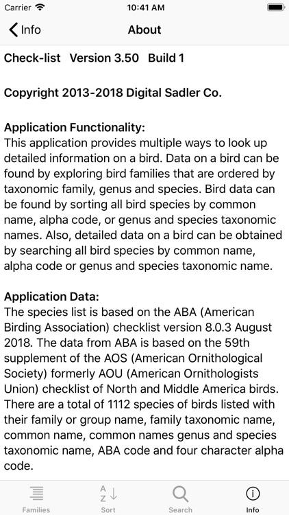 Learning Birds Check-list screenshot-8