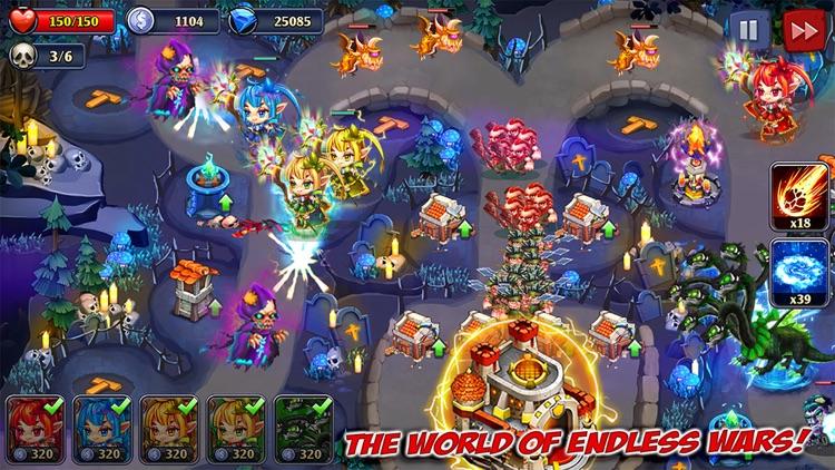 Kingdom Defense: Heroes War TD screenshot-0