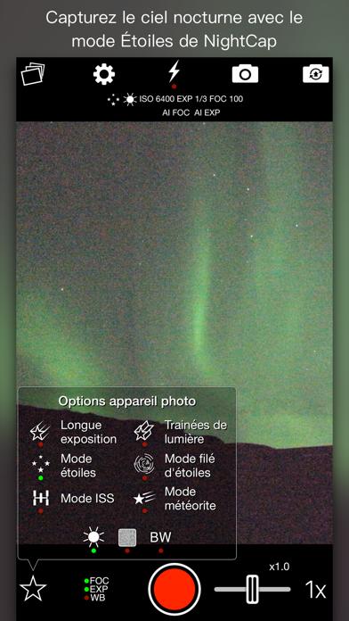 Screenshot #3 pour NightCap Camera