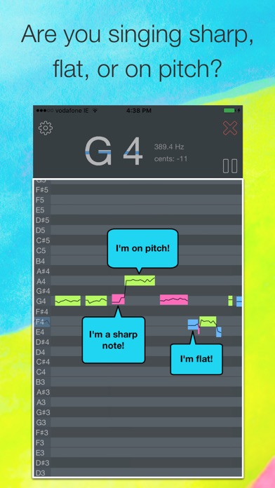 OnPitch - Vocal Pitch Monitor app image