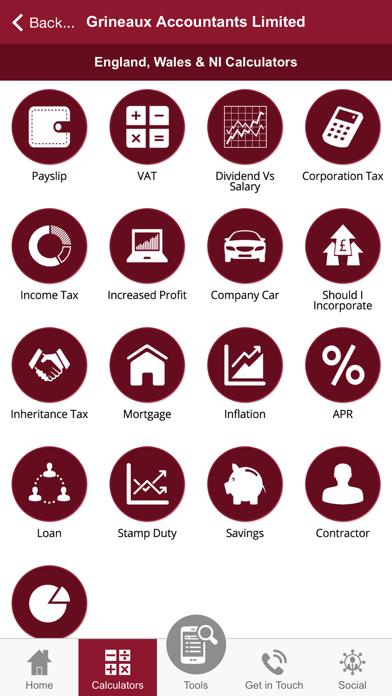Grineaux Accountants Limited screenshot three