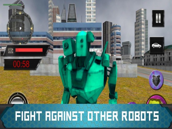 Extreme Robot Transform -Fight screenshot 4