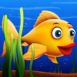 Flippy Fishy : The flip flap bubble under water deep ocean adventure - Free Edition