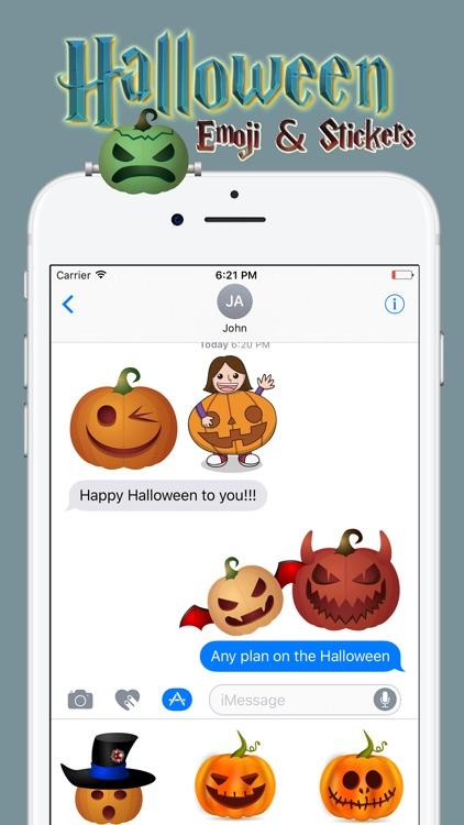 Halloween Emoji & Stickers