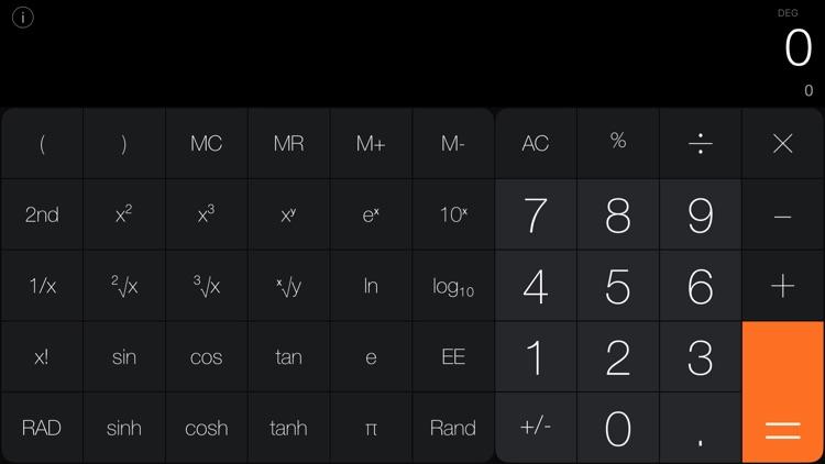 Calculator iRocks screenshot-3