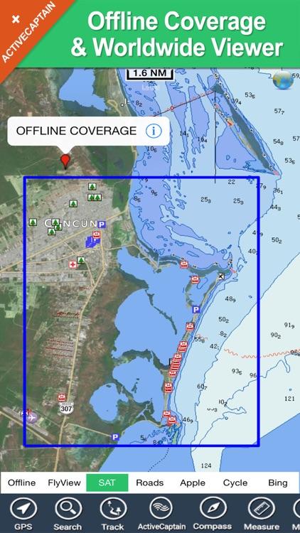 Cancun HD - GPS Map Navigator screenshot-4