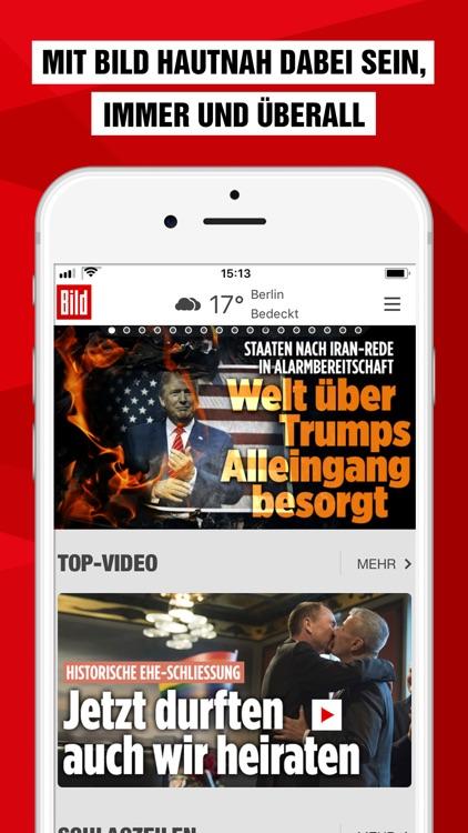 BILD News - Nachrichten live screenshot-0