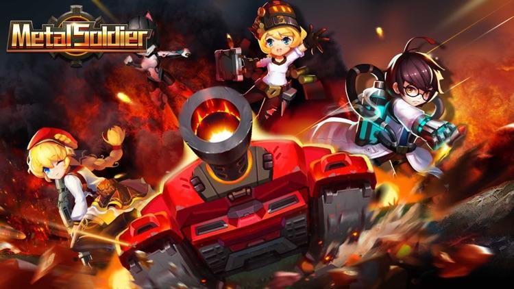Metal Soldier:Tanks wars blitz screenshot-0