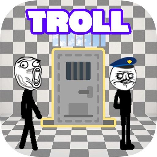 Stickman Troll - Prison Escape