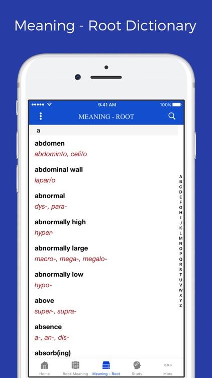 Medical terminology - roots screenshot-3