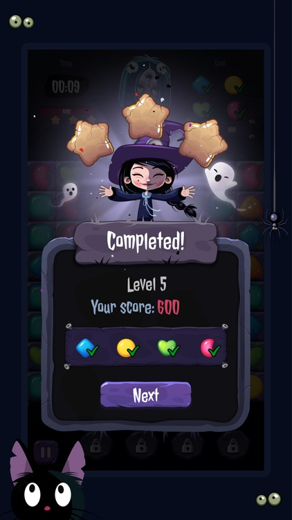 Sweet Spells: Match 3 Quest