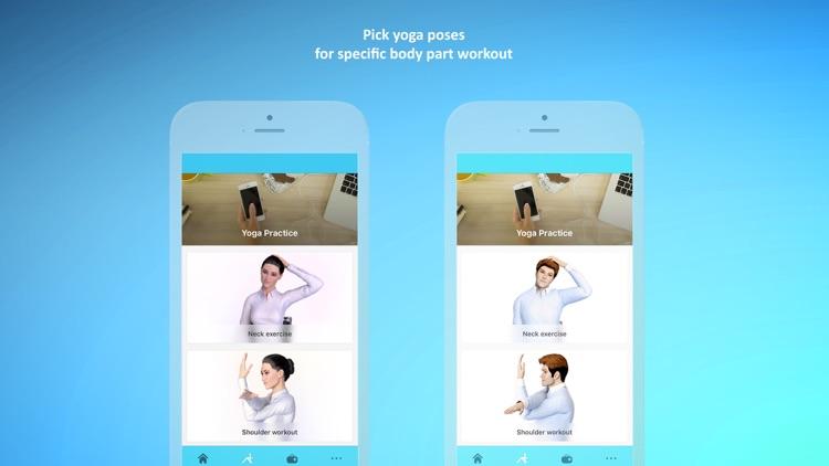 Office Yoga - Fitness Workouts screenshot-0