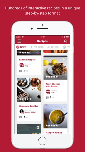 Drop recipes on the app store screenshots forumfinder Image collections
