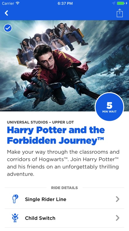 The Official Universal Studios Hollywood℠ App screenshot-4