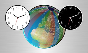 Clocks of Cities on Terra