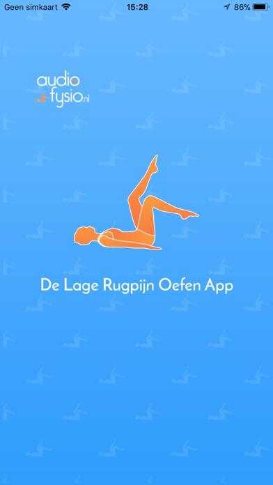 Screenshot for Lage Rugpijn Oefeningen App in Belgium App Store