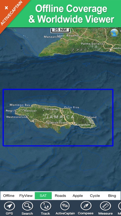 Jamaica - GPS Map Navigator screenshot-4