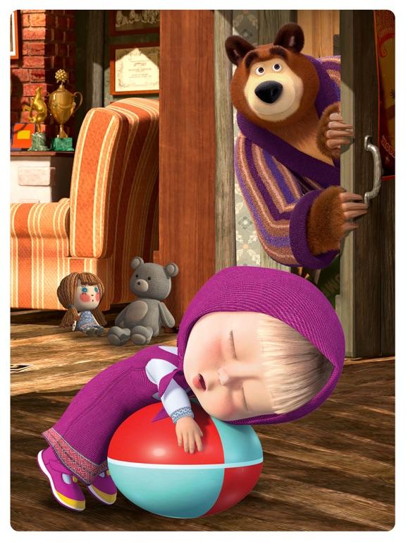 Маша и Медведь: Спокойной ночи для iPad