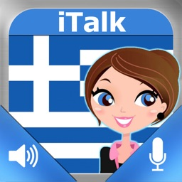 iTalk Greek: Conversation guide - Learn to speak a language with audio phrasebook, vocabulary expressions, grammar exercises and tests for english speakers HD