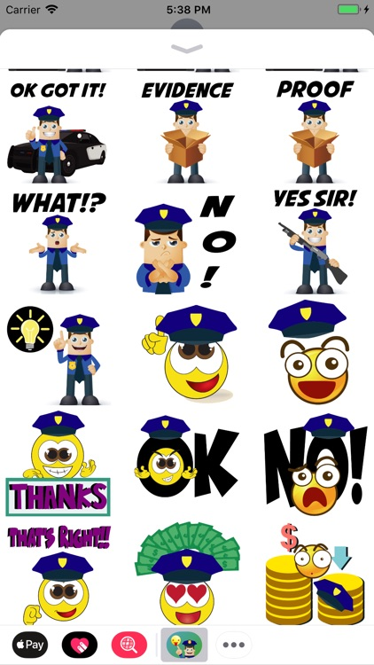 Police Moji-Emoji for Police screenshot-3