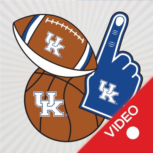 Kentucky Wildcats Animated Selfie Stickers